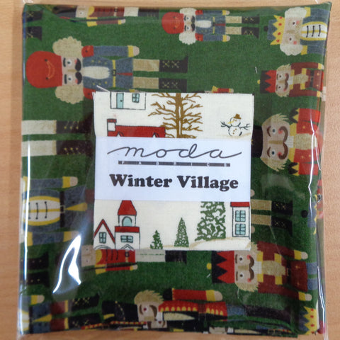Winter Village Mini Charms plus FQ
