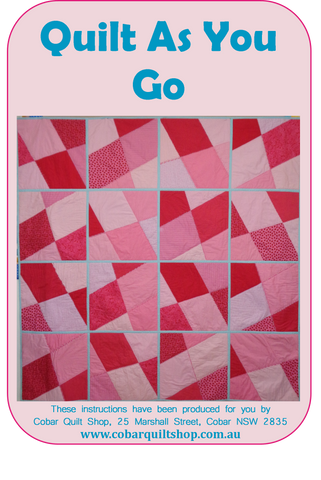 Quilt As You Go Pattern