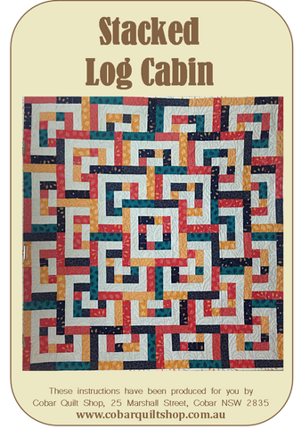Stacked Log Cabin Pattern