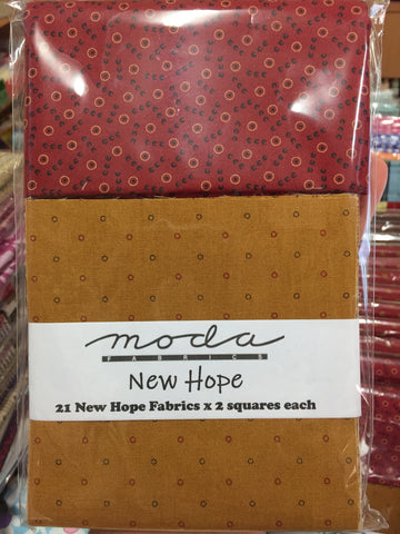 New Hope Charm Squares plus .5m