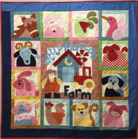 Little Maccas Farm Quilt Kit