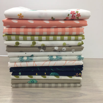 15 Woodland Secrets Fat Quarters