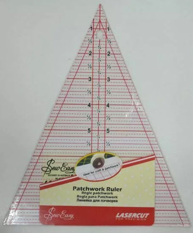 "45 degree 8.5"" Triangle Patchwork Ruler"