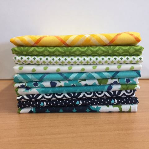 10 All Weather Friend Fat Quarters