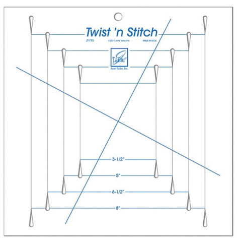 June Tailor Twist N Stitch ruler