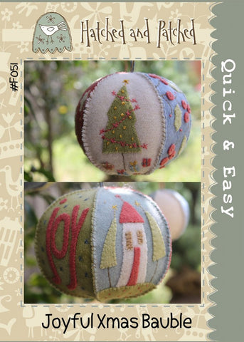 Joyful Xmas Bauble Kit