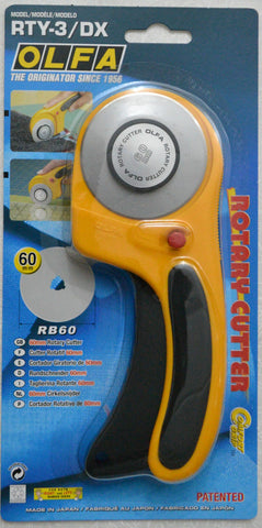 60mm Olfa Ergonomic Rotary Cutter