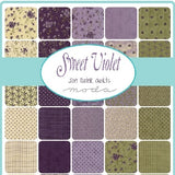 Sweet Violet Charm Squares