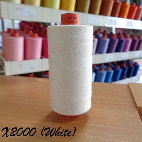 Rasant Thread 1000m  - x2000 White