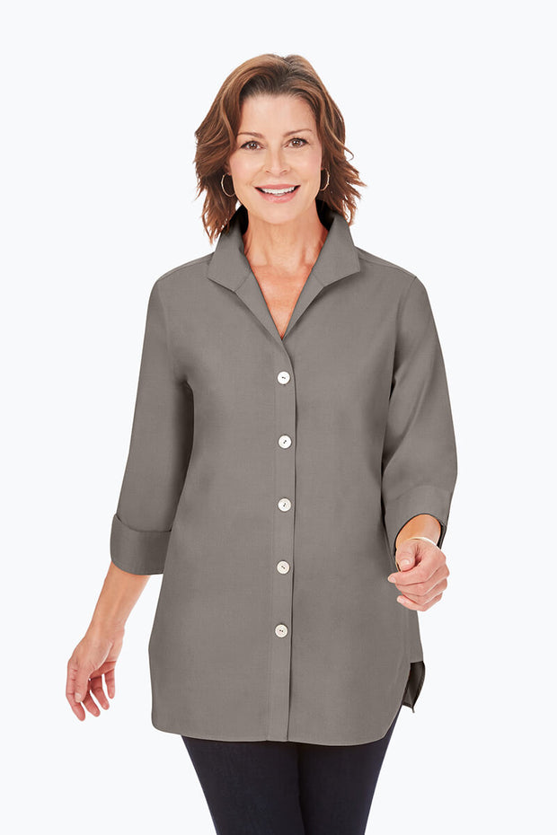 Foxcroft Pandora 3/4 Sleeve Blouse - Available In multiple colors