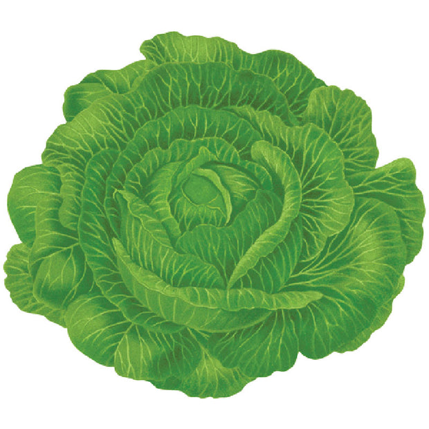 Caspari Placemats (Set of 4) - Cabbage