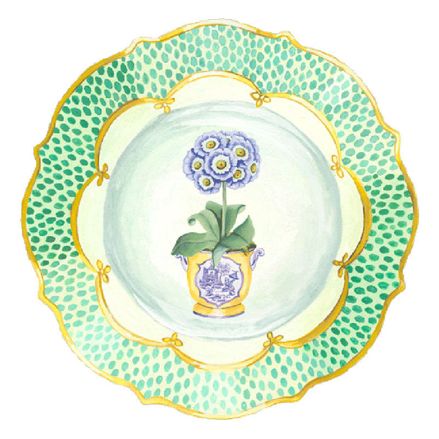 Caspari Placemats (Set of 4) - Primrose