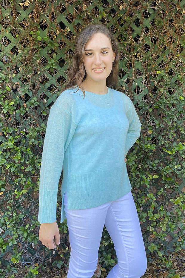 Cashmere Firenze Easy Pullover Sweater - Available in Multiple Colors
