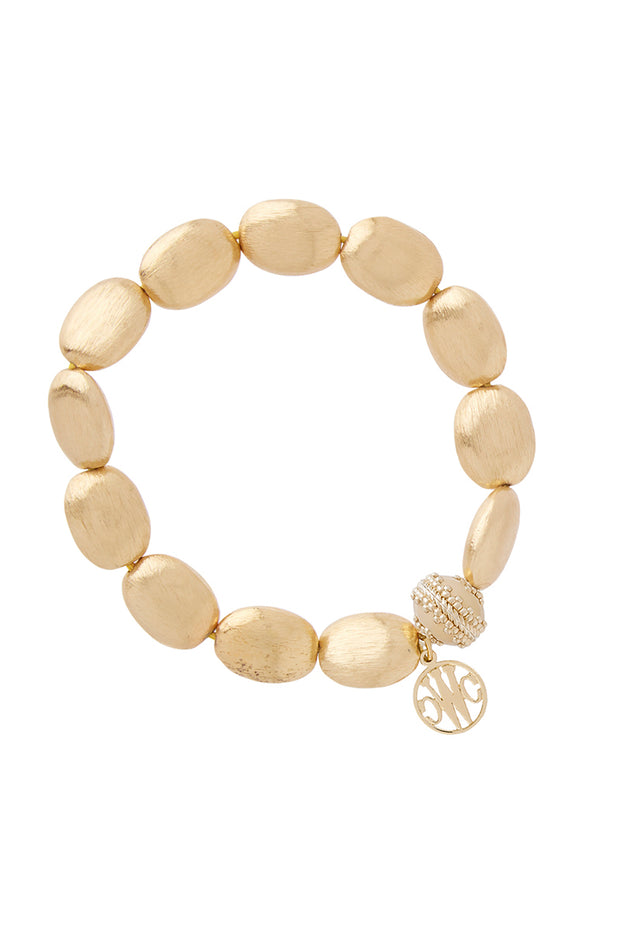 Bracelet - Gold Rush Oval