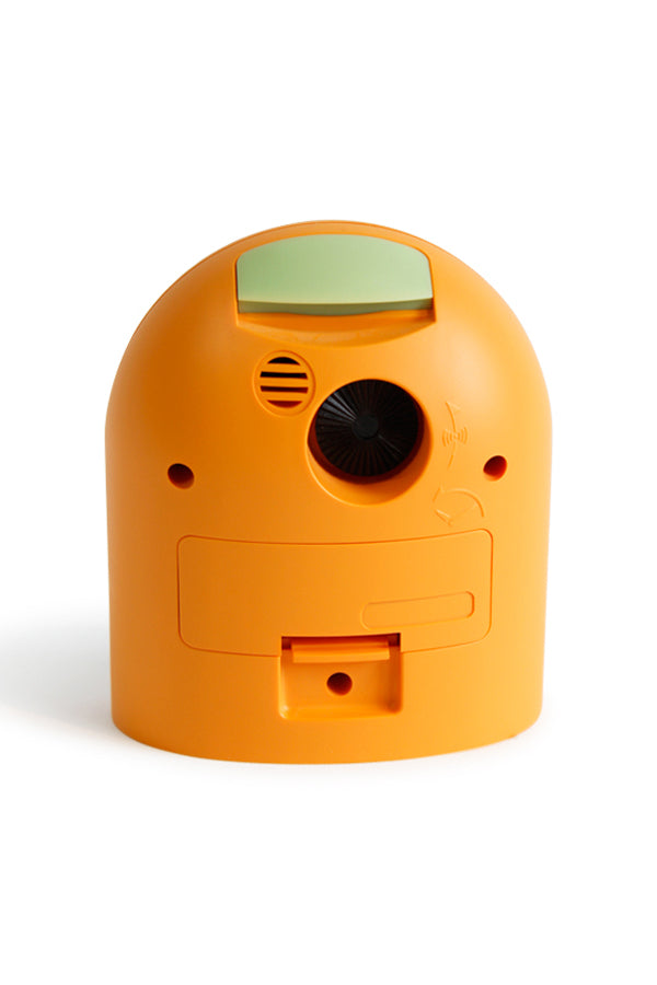 Pick-Me-Up Alarm Clock in Orange