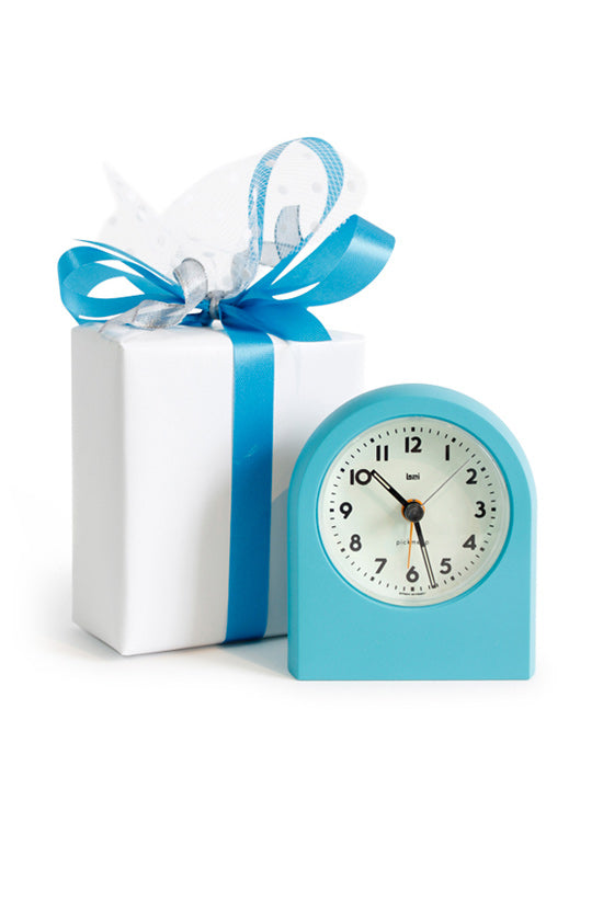 Pick-Me-Up Alarm Clock in Turquoise