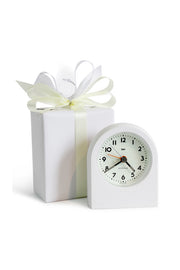 Pick-Me-Up Alarm Clock in White