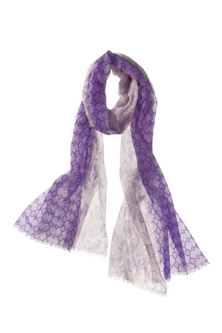 Catena Cashmere Printed Shawl- Available in two colors