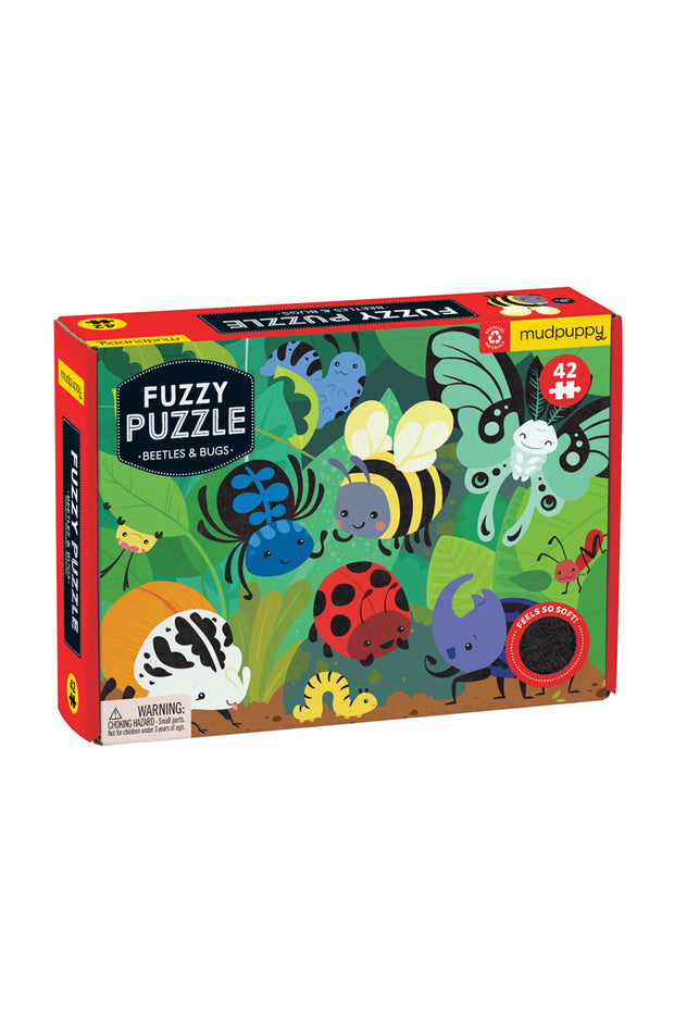 Puzzle - Fuzzy Beetles & Bugs
