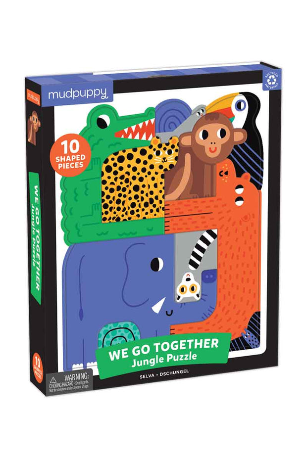 Puzzle - We Go Together Jungle