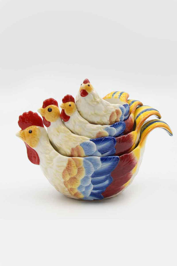 Rooster Measuring Cups