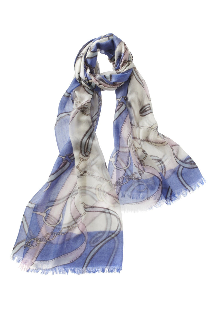 Cavallo Cashmere Printed Shawl - available in multiple colors!