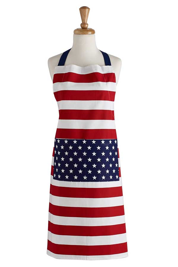 Stars & Stripes Apron & Oven Mitt Set