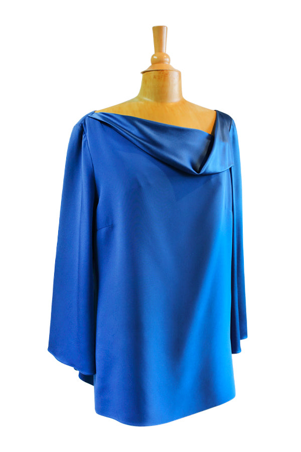 Emmelle Bell Sleeve Tunic Top - available in four colors