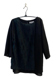 Emmelle Layered Box Fringe Tunic - available in three colors