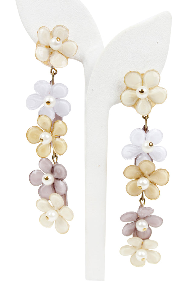 French Versailles Drop Earrings - available in two colors