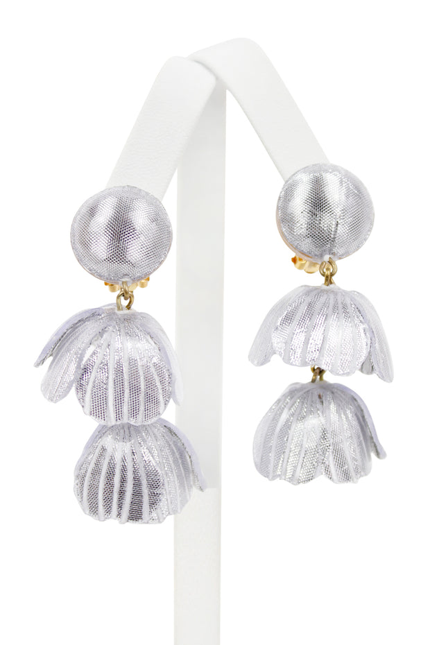 French Peter Chandelier Clip Earrings - Available In multiple Colors!