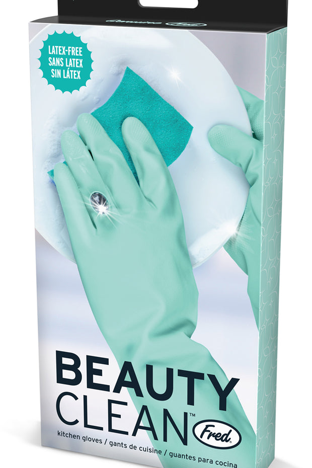 Beauty Cleaning Diamond Kitchen Gloves