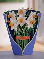 Daffodils Pop-up Flower Card