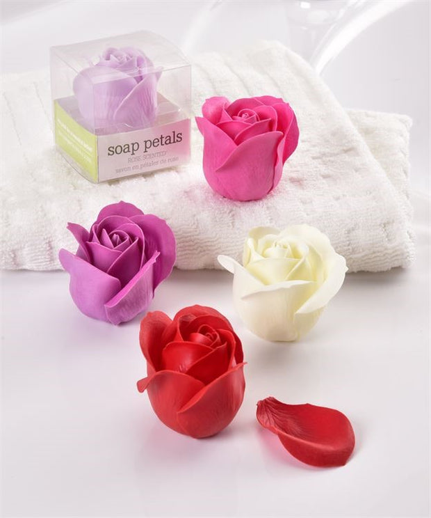 Soap Rose Petal Flower Set Of 5