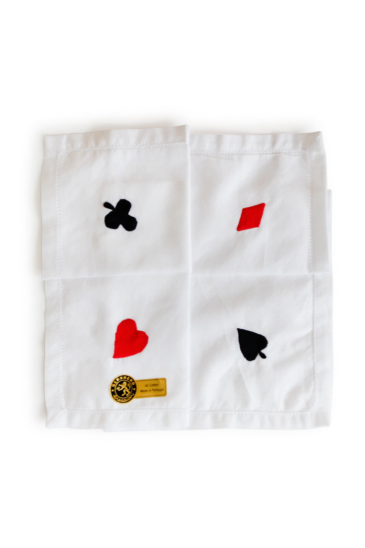 Bridge Cards Hankie