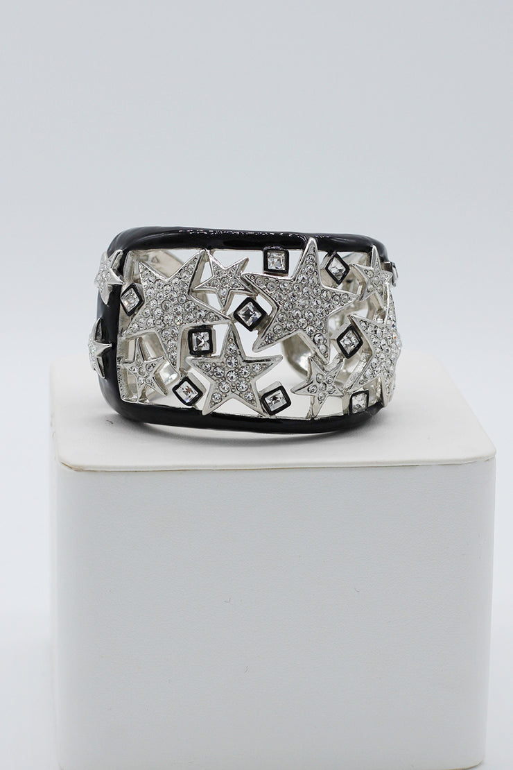 Kenneth Jay Lane Star Cuff Bracelet