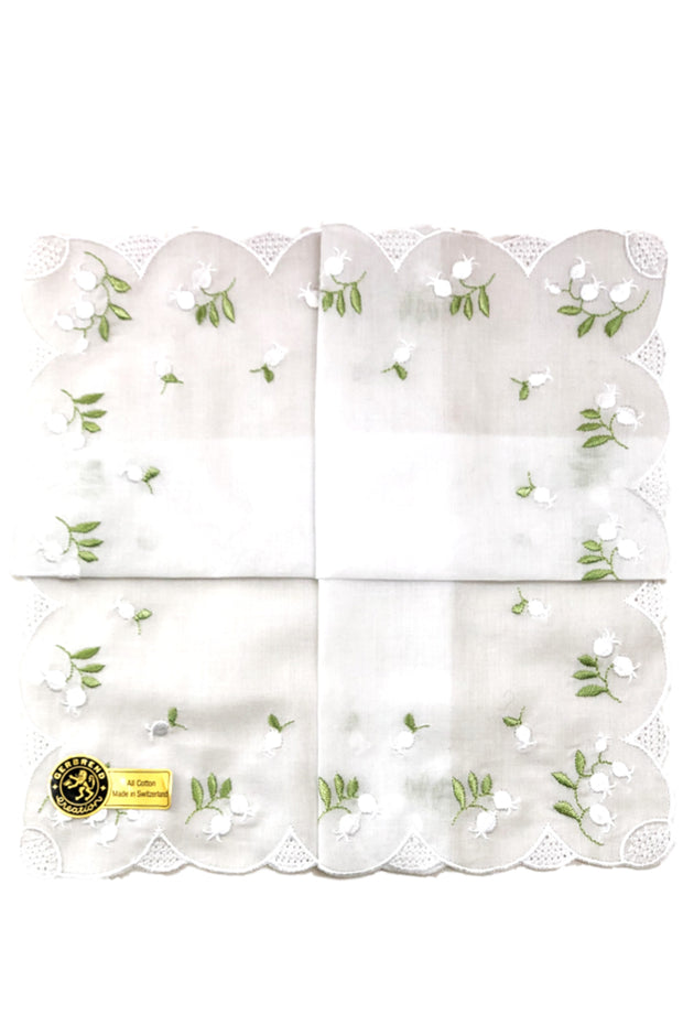 Lily of the Valley Hankie