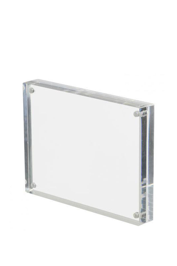 Lucite Magnetic Picture Frame - 8 x 10
