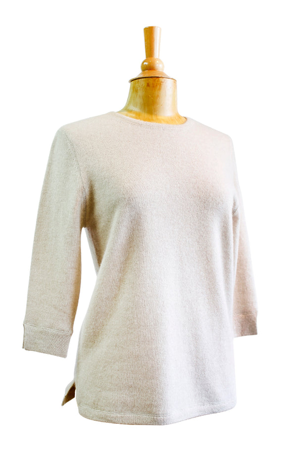 Mildred Hoit Cashmere Crew Sweater - available in multiple colors!