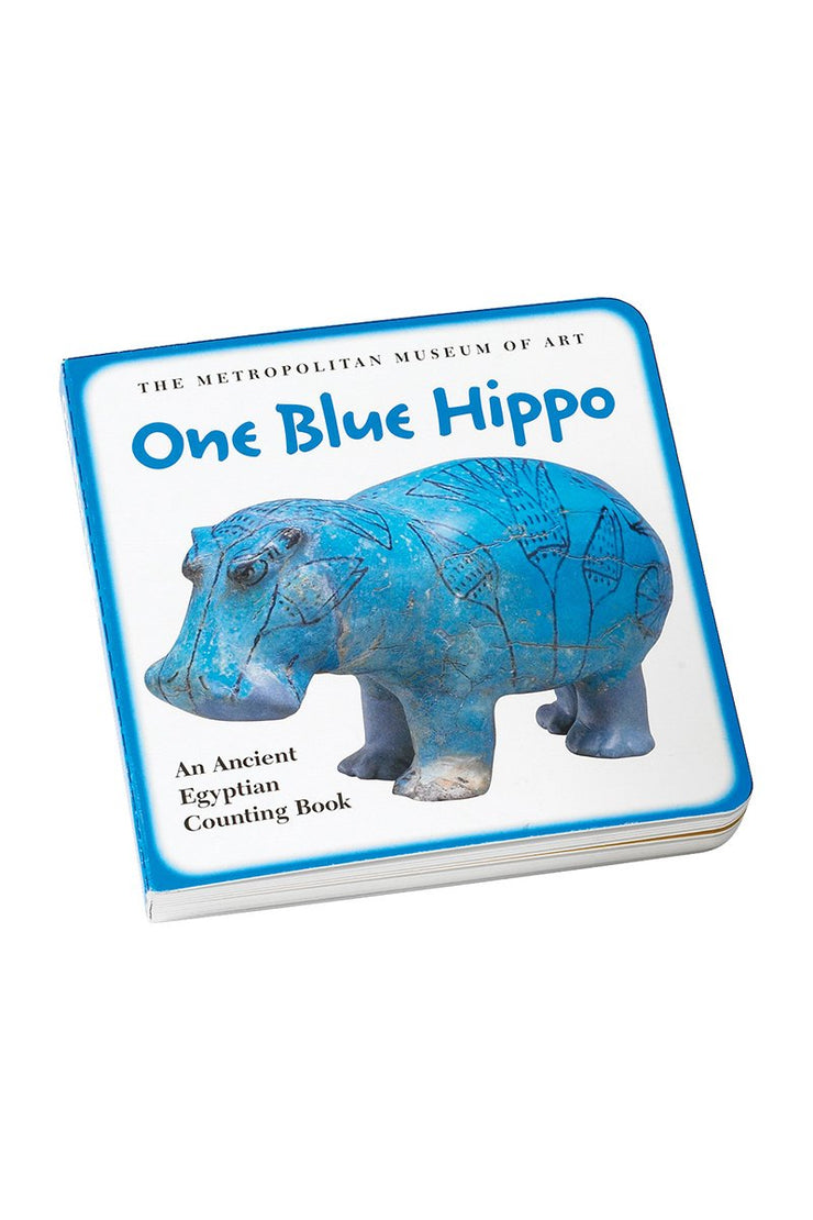 One Blue Hippo Book and Plush Set