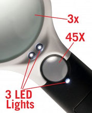 LED Magnifier Light