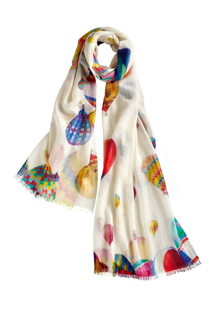 Ivory Palloncino Scarf