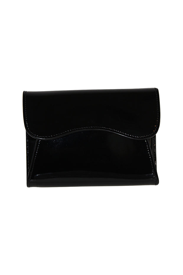 Small Italian Patent Leather Clutch Bag