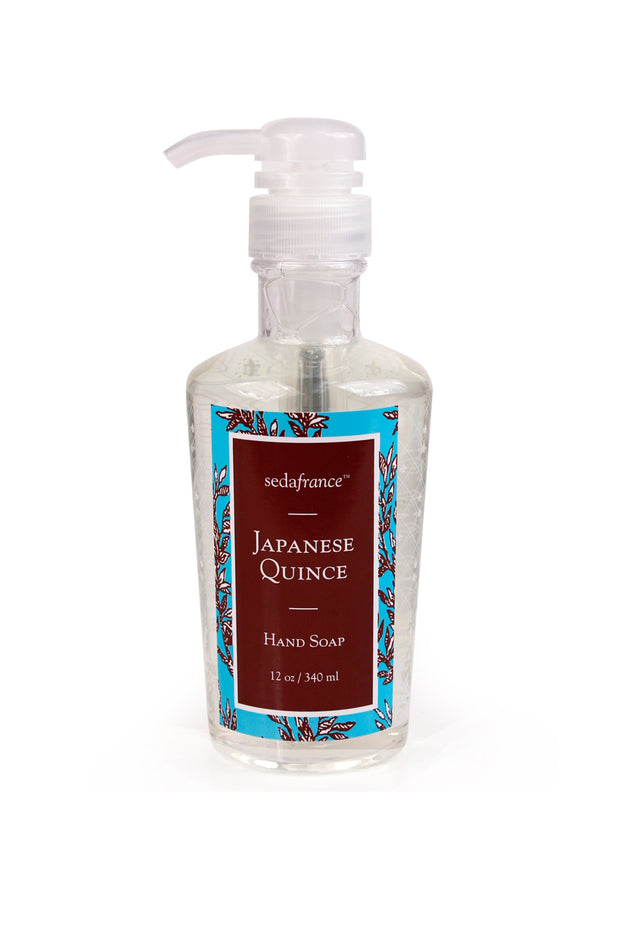 Seda France Liquid Hand Soap in Japanese Quince