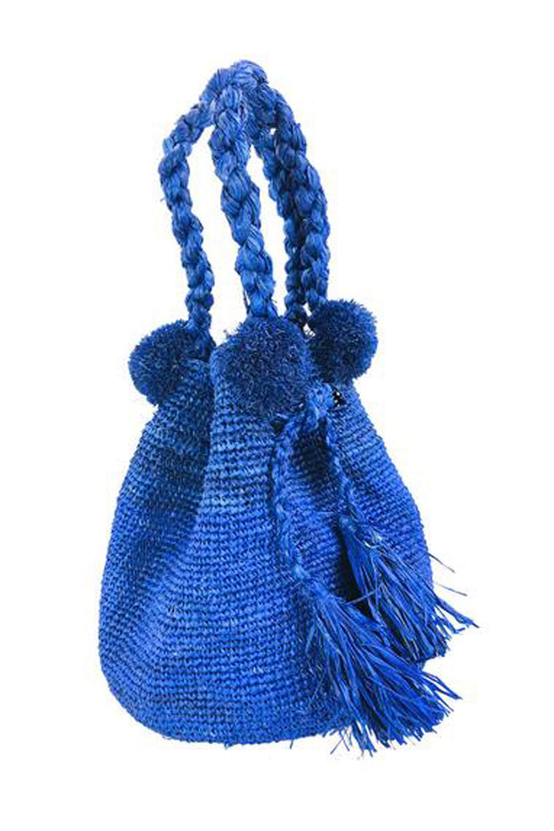 Hobo Straw Crochet Handbag - available in multiple colors