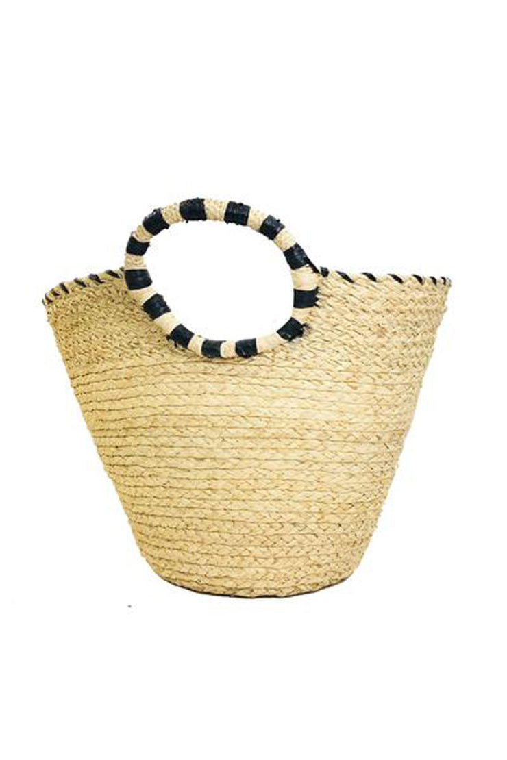 Marten Straw Bucket Basket