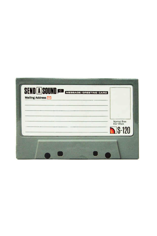 Cassette Tape Recordable Greeting Card