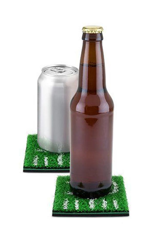 Home Turf Football Coasters - Set of 5