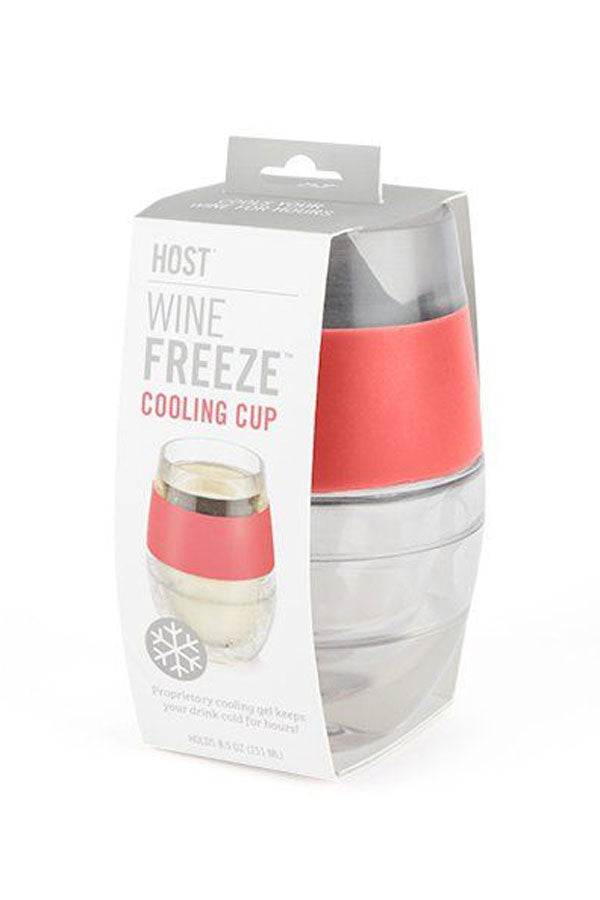 Wine Freeze Cooling Cup - available in four colors