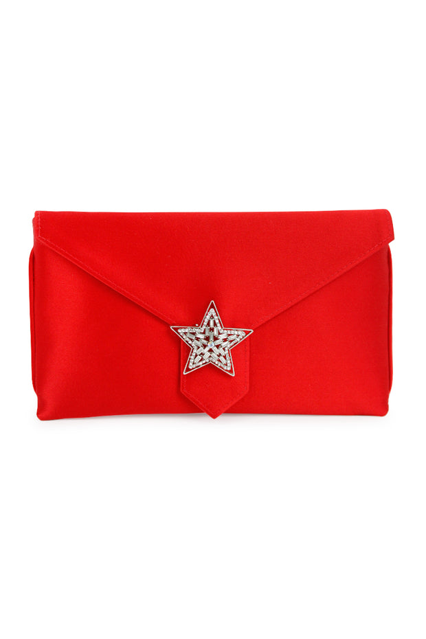 Silk Envelope Clutch Bag with Pin - multiple styles available!
